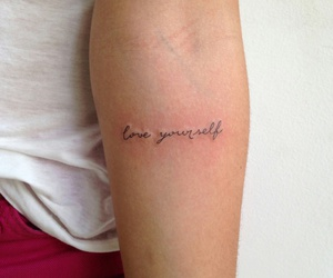 tattoo, love, and inspiration image