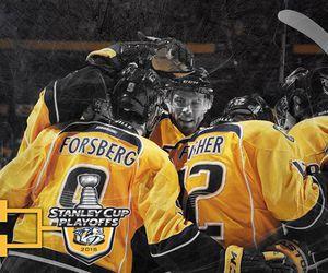 hockey, nhl, and nashville predators image