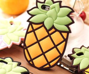 case, cover, and pineapple image