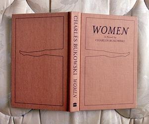 book, woman, and charles bukowski image