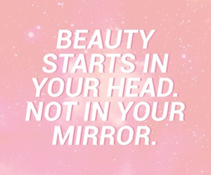 beauty, pink, and quotes image
