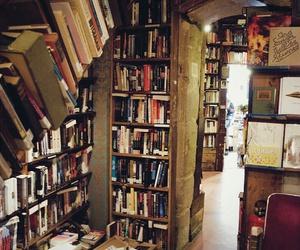 books, paris, and bookshop image