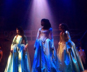 hamilton, musical, and the schyler sisters image