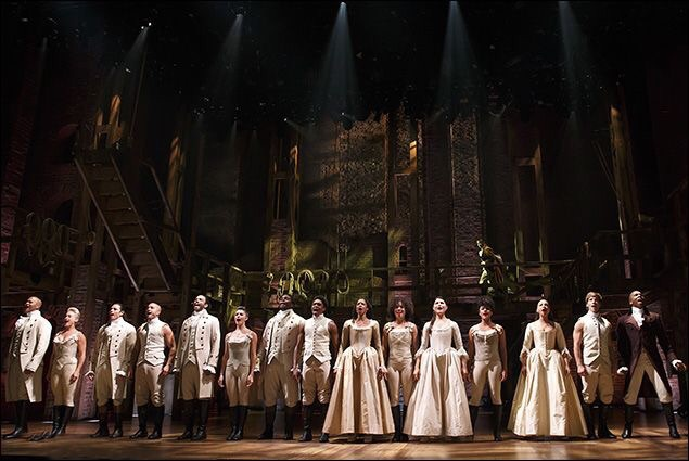 cast, hamilton, and musical image