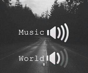 music and world image