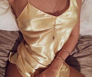 fashion, theme, and silk image