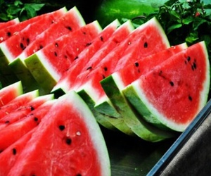 delicious, watermelons, and fruit image