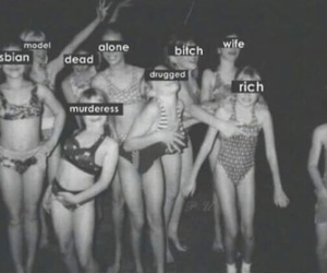rich, bitch, and gay image