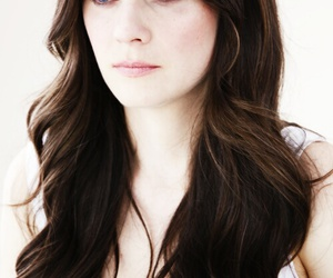 zooey deschanel and hair image