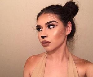 bronze, indie, and makeup image