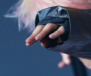 exo, hand, and baekhyun image