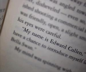 twilight, book, and edward cullen image