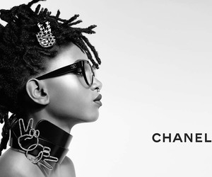 chanel, eyewear, and girl image