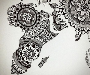 africa, art, and black image