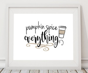 etsy, coffee sign, and pumpkin spice latte image