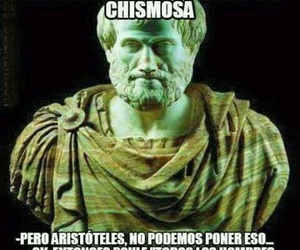 funny, lol, and aristoteles image