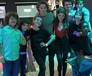 stranger things, eleven, and cast image
