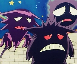pokemon, gengar, and ghost image
