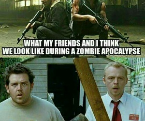 the walking dead, funny, and rick grimes image