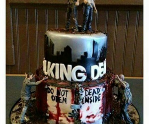cake, twd, and the walking dead image