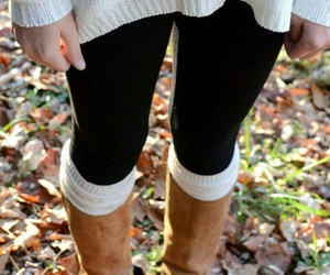 fashion, boots, and fall image