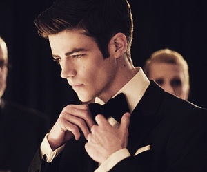 flash, grant gustin, and love image