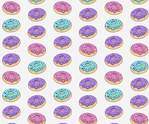 wallpaper, donuts, and background image