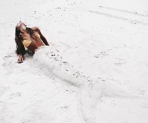 beach, mermaid, and summer image