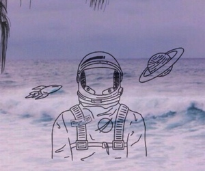 wallpaper, grunge, and space image