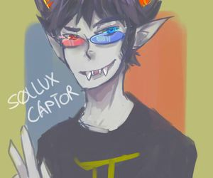 homestuck and sollux captor image
