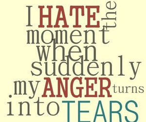 anger and tears image