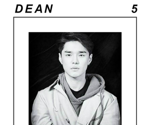 black&white, dean, and kpop image