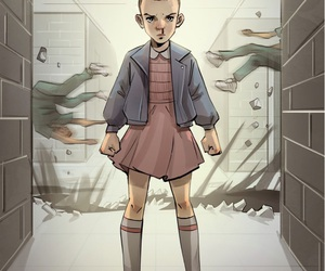 stranger things, eleven, and series image