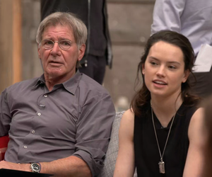 celebs, harrison ford, and rey image