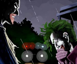 arkham, Gotham, and harley quinn image