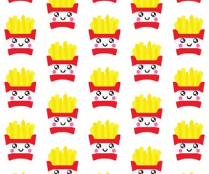 background, colors, and French Fries image