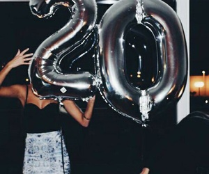 girl, birthday, and 20 image