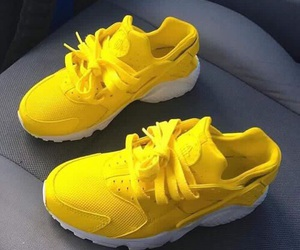 yellow and shoes image