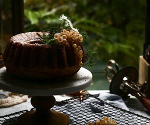 cake, food, and orange blossom image