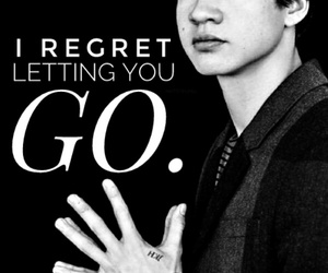 b&w, quote, and calum hood image