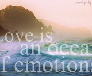 emotion, ocean, and photography image