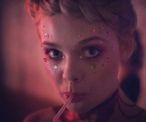 Elle Fanning and neon demon image