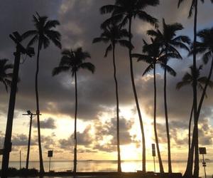 beautiful, hawaii, and clouds image