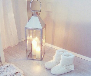 cozy, home, and light image