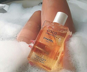 chanel, bath, and luxury image
