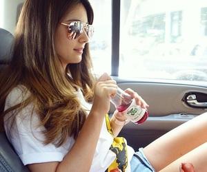 fashion, model, and shades image