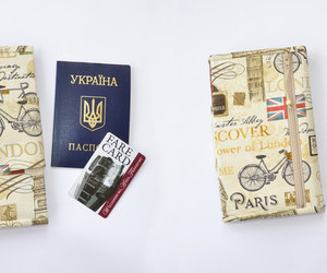 etsy, vegan wallet, and travel gift image