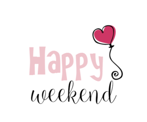 happiness, pink, and weekend image