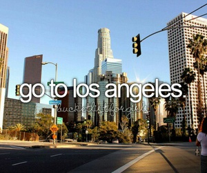 los angeles, city, and before i die image