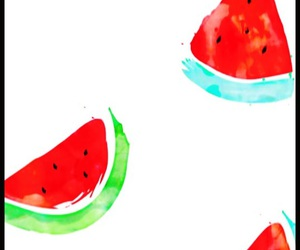 watermelon and sumertime image
